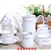 定做礼品陶瓷咖啡具-景德镇咖啡具厂家
