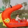 贵州充气红龙口电瓶车/广场六盘水儿童玩具电动车