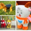供应毛绒动物车西安国龙专业生产厂家动物电瓶车