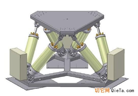 4d动态模拟器为六自由度动态模拟器,能够支持:前后倾斜pitch:&plusmn