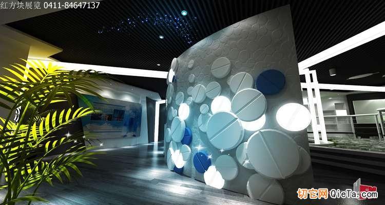 医院文化教育展厅设计图