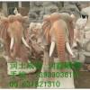 石雕生產廠家供應晚霞紅石雕大象,提供石雕大象價格