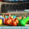 供应趣味运动会器材充气毛毛虫竞速,户外拓展训练项目亲子活动