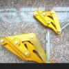 供應單桃地線卡線器,鋁鎂合金卡線器,鋼絞線卡線器