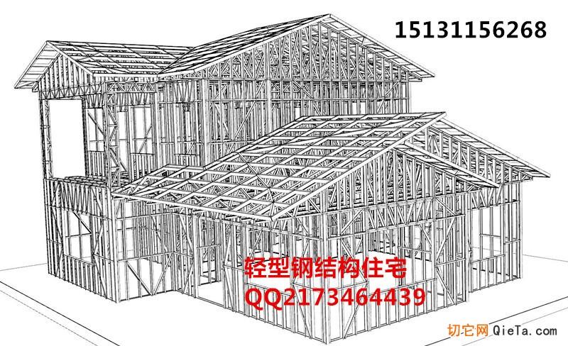楼房三点透视素描结构图