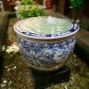 供应景德镇陶瓷大缸 直径1米青花瓷鱼缸
