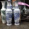 供应手工陶瓷大花瓶 摆件青花花瓶价格
