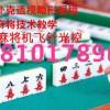 瑞昌市四口普通麻将机遥控程序多少钱❁1381017.8901