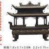 寺庙铸铁香炉,铜雕香炉,塔炉,故宫鼎
