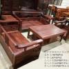 非洲小叶紫檀现代沙发 实木沙发 红木家具定制