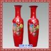 喜鹊灵禽陶瓷花瓶 松鹤福禄陶瓷花瓶