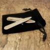 商务礼品定制logo衬衫高档配件镜面金属领撑片