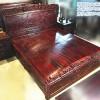 黑酸枝大床3件套 中式仿古实木雕刻家具 可定制批发