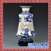 节日礼品陶瓷镂空陶瓷花瓶 粉彩花瓶