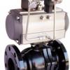 供应川速高品质电动调节球阀