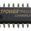 TPOWER TP4311 充电电流1A 支持手电筒功能 移动电源解决方案