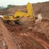 开山凿岩小松挖掘机凿岩岩石臂裂石器
