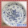 陶瓷纪念礼品纪念盘 , 陶瓷典礼盘, 周年纪念盘