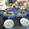 适用于腐蚀性管道的蝶阀+耐腐蚀气动蝶阀