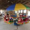 供应儿童电动旋转飞椅/12座豪华转马厂家