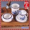 茶杯三件套 礼品茶杯套装 陶瓷烟灰缸