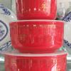 供应陶瓷饭盒厂家批发加工陶瓷保鲜碗订制