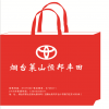 烟台礼品公司袋子厂家定做无纺布环保手提袋,可以折叠的购物手提袋