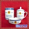 创意广告杯定制LOGO 学校活动礼赠品陶瓷杯 出口热转印色釉马克杯
