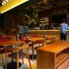 西安轻食餐厅桌子组合家具定做定制
