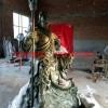 湖北铜铸造武财神佛像 大型武财神