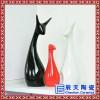 创意手工陶艺花瓶电视柜干花插花器 白色简欧风格家居装饰陶瓷摆件