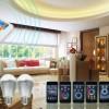 深圳汇铭微优势热供2.4G无线遥控LED灯调光调色温系统方案
