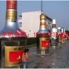 海南酒瓶不锈钢雕塑 不锈钢酒瓶雕塑厂家