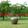内蒙古苹果不锈钢雕塑 不锈钢雕塑苹果雕塑厂家