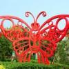 湖南蝴蝶不锈钢雕塑 园林蝴蝶不锈钢雕塑厂家