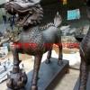连云港铜雕动物麒麟 麒麟动物铜雕塑厂家