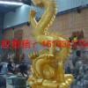 马鞍山铜龙动物雕塑 站着的龙铜雕塑生产厂家