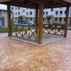 厂家直销压花地坪压模地坪彩色艺术地坪材料