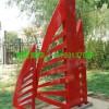 公园不锈钢雕塑 不锈钢烤漆雕塑厂家