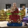 抱小孩地藏王佛像彩绘 地藏王佛像生产厂家
