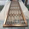 佛山金筑达钛金不锈钢屏风 中式镂空不锈钢花格屏风隔断