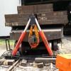 铁水车复轨器ATX-150型(吊复式)