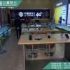 信用保证华为收银台 不锈钢华为展示柜 体验桌
