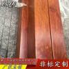 304彩色管木纹彩色不锈钢方管 拉丝玫瑰金 不锈钢管 不锈钢圆管