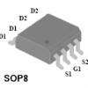 4803 MOSFET管双P沟道高级功率MOS晶体管