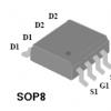 4842mos管sop-8场效应管双N沟道高级功率MOSFET
