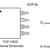 9926 SOP-8低压大芯片双N沟道场效应管