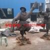 藏族人物跳舞雕塑,铸铜人物铜雕塑,铜雕塑生产厂家