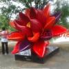 花朵雕塑 各种花朵主题雕塑制作图片大全