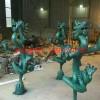 青铜铸造雕塑 动物铜雕塑 景观铜雕塑